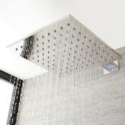 Milano Arvo - Modern Square 200mm Stainless Steel Shower Head - Chrome