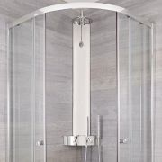 Milano Thermostatic Corner Shower Tower