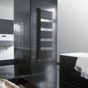 Lazzarini Way - Grado - Anthracite Designer Heated Towel Rail - 1600 x 600mm