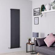 Milano Capri - Anthracite Flat Panel Vertical Designer Radiator - 1780mm x 472mm