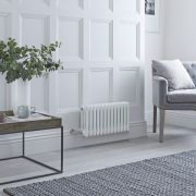 Milano Windsor - Traditional White 3 Column Electric Radiator 300mm x 608mm (Horizontal)