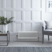 Milano Windsor - White Traditional Horizontal Column Radiator - 300mm x 788mm (Triple Column)