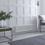 Milano Windsor - Traditional White 2 Column Electric Radiator 300mm x 1013mm (Horizontal)