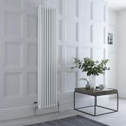 Milano Windsor - Traditional White Horizontal Column Radiator - 1800mm x 383mm (Triple Column)