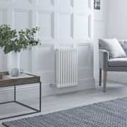 Milano Windsor - Traditional White 2 Column Electric Radiator 600mm x 405mm (Horizontal)