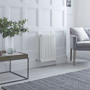 Milano Windsor - Traditional White 3 Column Electric Radiator 600mm x 405mm (Horizontal)