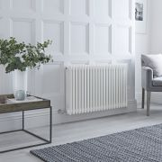 Milano Windsor - Traditional White 3 Column Electric Radiator 600mm x 990mm (Horizontal)