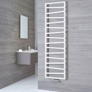 Terma ZigZag - White Vertical Heated Towel Rail - 1780mm x 500mm