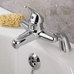 Milano Encore Chrome Bath Filler Tap