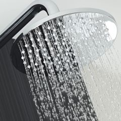 Milano 200mm Round Polished Stainless Steel Shower Head