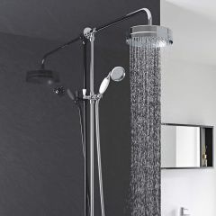 Hudson Reed Luxury Rigid Riser Shower Kit