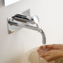 Milano Mirage Wall Mounted Single Lever Basin Filler