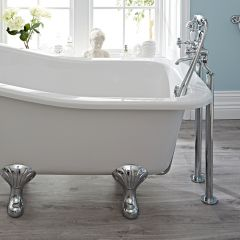 Hudson Reed Topaz Freestanding Bath Shower Mixer Tap