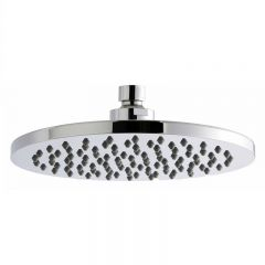 Premier ABS Chrome 200mm Round Fixed Shower Head