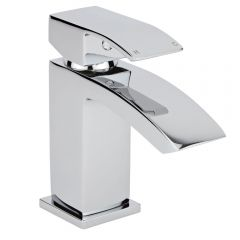 Milano Wick Chrome Mini Mono Basin Mixer Tap