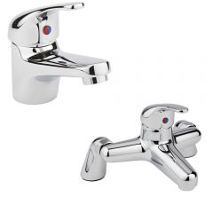 Milano Encore Basin & Bath Filler Tap Set