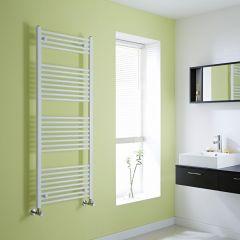 Milano Calder - Flat White Heated Towel Rail - 1500mm x 600mm