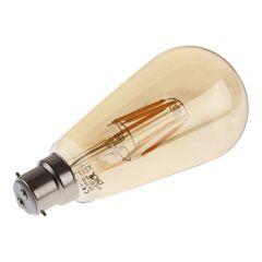 Biard Traditional Filament Bulb Gold 6W B22