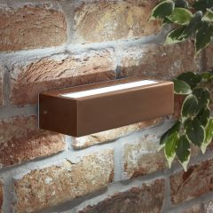 Biard Ternay IP44 LED Outdoor Wall Light - Copper