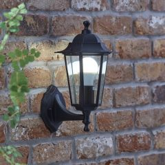 Biard Toulon Outdoor Wall Lantern - Black
