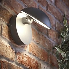 Biard Piombino Adjustable LED Wall Light - Anthracite