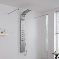 Milano Thermostatic Shower Tower with Waterfall Head