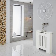 Milano Ealing - White Radiator Cabinet - 820mm x 780mm