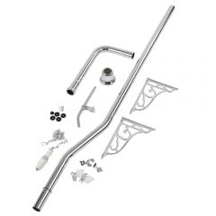 Milano High Level Flush Pipe Kit