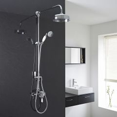 Hudson Reed Traditional Thermostatic Shower Valve with Grand Shower