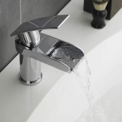 Hudson Reed Rhyme Mono Basin Mixer Tap Without Waste