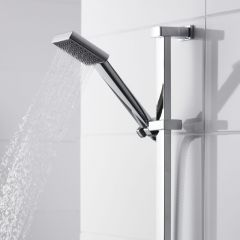 Premier Rectangular Shower Slide Rail Kit