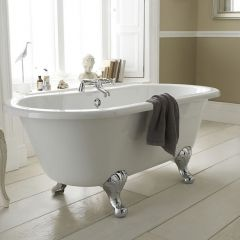 Milano 1500mm Double-Ended Freestanding Bath