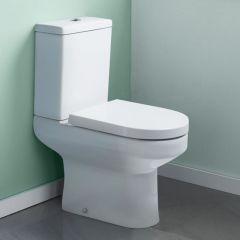 Milano Harmony Toilet Pan Cistern and Seat
