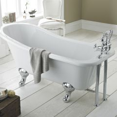 Premier 1500mm Slipper Freestanding Bath