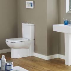 Milano Longton Compact Toilet, Cistern & Soft Close Seat