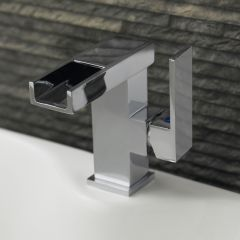 Premier LED Side Action Mono Basin Mixer Tap