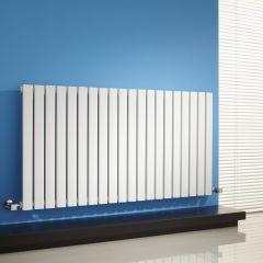 Milano Capri - White Flat Panel Horizontal Designer Radiator - 635mm x 1180mm