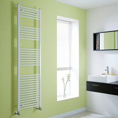 Milano Calder - Flat White Heated Towel Rail - 1800mm x 500mm