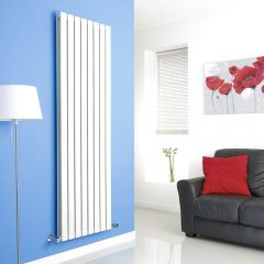 Milano Alpha Vertical Double Slim Panel Designer Radiator 1780mm x 560mm
