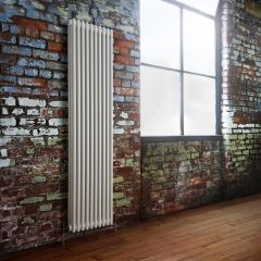 Milano Windsor - White Traditional Vertical Column Radiator - 1800mm x 473mm (Triple Column)