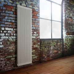 Milano Windsor - White Traditional Vertical Column Radiator - 1800mm x 563mm (Triple Column)