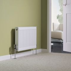 Milano Compact - Double Panel Plus Radiator - 400mm x 600mm