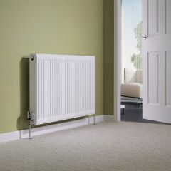 Milano Compact - Double Panel Plus Radiator - 600mm x 1000mm
