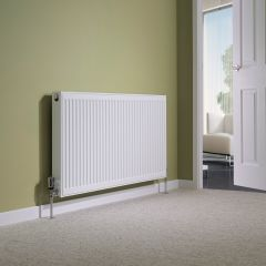 Milano Compact - Double Panel Plus Radiator - 600mm x 1200mm
