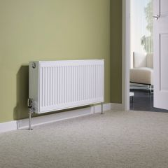 Milano Compact - Double Panel Radiator - 400mm x 1000mm