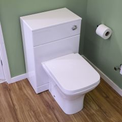 Milano Longton Back to Wall Toilet with Soft Close Seat