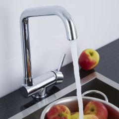 Milano Folding Monobloc Kitchen Mixer Tap