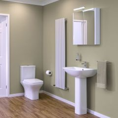 Premier Carmela Close Coupled Cloakroom Suite