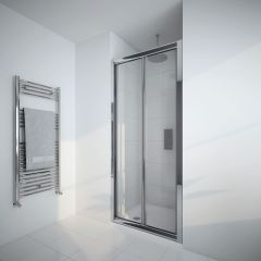Milano Portland 900mm Bi-Fold Shower Door