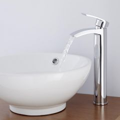 Milano Razor High Rise Mono Basin Mixer